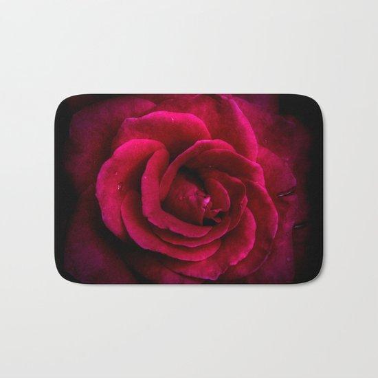 Texture Of A Rose Bath Mat