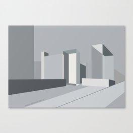 Berlin Perspectives - Karl-Liebknecht-Strasse / Memhardstrasse Canvas Print