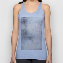 """1198 abstract beige/silver wall"" Unisex Tank Top"