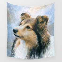 Sheltie Collie Dog Wall Tapestry