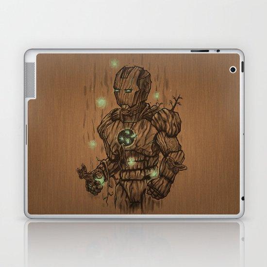 Wooden Man Laptop & iPad Skin