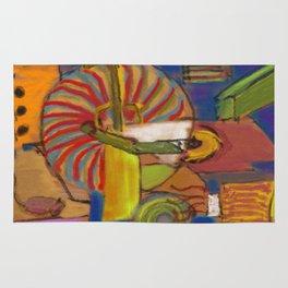Hallucination Jukebox Rug