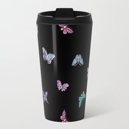 holiday, butterfly, jewels, precious, butterflies, new year, thanksgiving, Christmas, holidays, 2018 Travel Mug