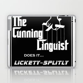 The Cunning Linguist Laptop & iPad Skin