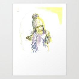 Fashion Kid 3 Art Print