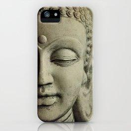 Buddha Head. iPhone Case