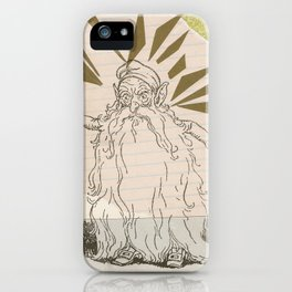 Rumpelstiltskin iPhone Case