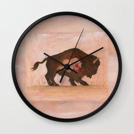 Heart of the Buffalo Wall Clock