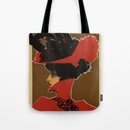 Golden Prague art nouveau Tote Bag