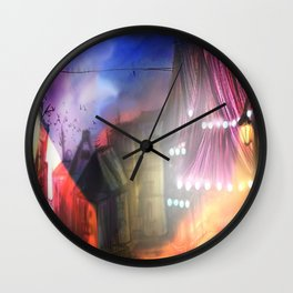 Midnight stray Wall Clock
