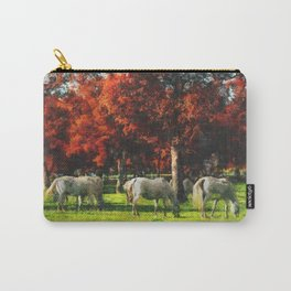 White Horse Lipizaners - Slovenia Carry-All Pouch