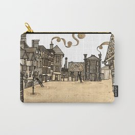Victorian Frankwell Under Water, sepia Carry-All Pouch