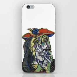 picasso weeping woman iPhone Skin