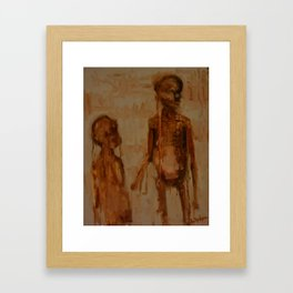 Hunger Framed Art Print