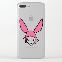 b. hayden logo Clear iPhone Case
