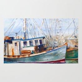 Fishing Boats (Namaste) Rug