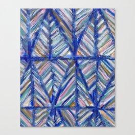 Modern Art Mountains Canvas Print