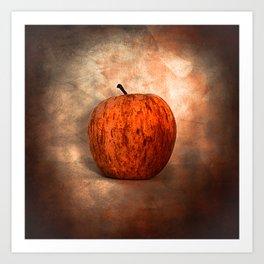 Once Upon an Apple Art Print