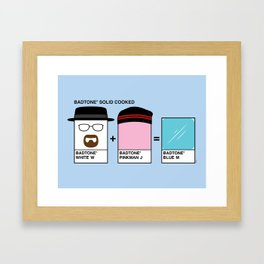 Badtones Framed Art Print