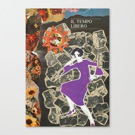 Il Tempo Libero (Spare Time) Canvas Print