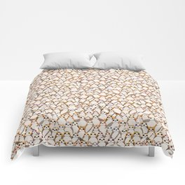 Galactic Penguins All Over Print Comforters