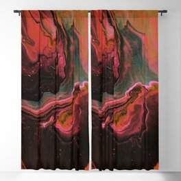Pink Red Galaxy - In Love with the Galaxy Blackout Curtain