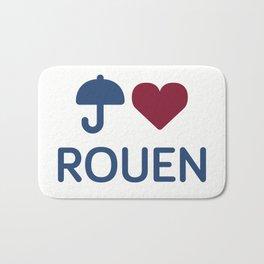 "I ""Love"" Rouen Bath Mat"