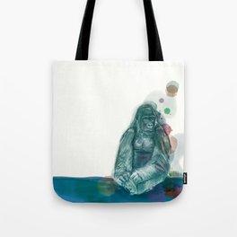 Green gorilla for Loïc Tote Bag