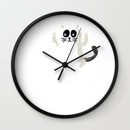Trick or Tuna Halloween Wall Clock