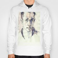 kerouac Hoodies featuring Jack Kerouac by Germania Marquez