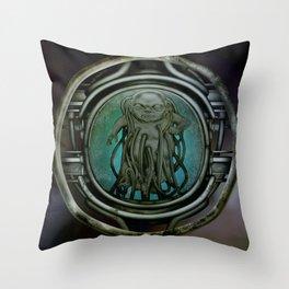 """Astrological Mechanism - Aquarius"" Throw Pillow"
