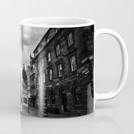 Adam Smith statue on The Royal Mile in Edinburgh, Scotland Coffee Mug