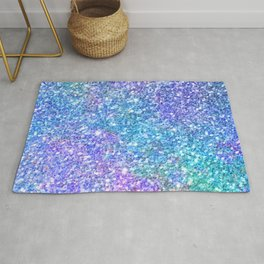 Colorful Glitter Texture Rug