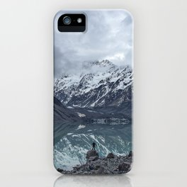 snow capped iPhone Case