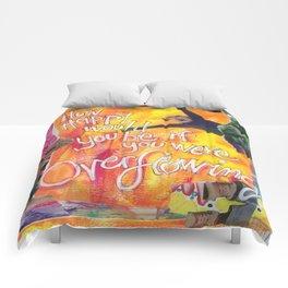 Overflowing Comforters