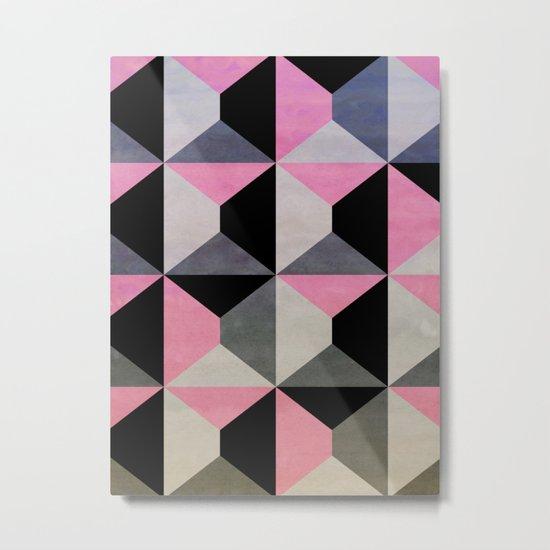 colour + pattern 9 Metal Print