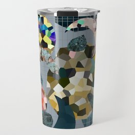 Gemstone Space Moon Travel Mug