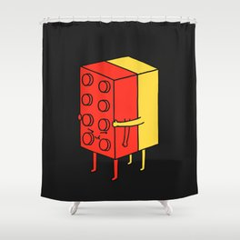 Never Let Go Shower Curtain