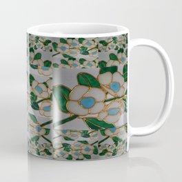 Australian Leatherwood ~muted white background~ (small patterning). Coffee Mug