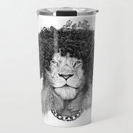 The Bling King Lion Travel Mug