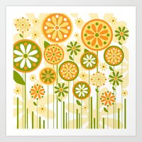 sunshine Art Prints featuring Sunshine by Shelly Bremmer