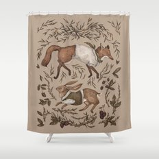 Tricksters Shower Curtain