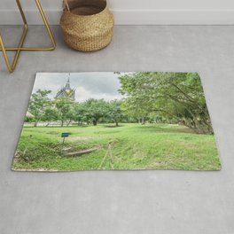 The Killing Fields and Stupa, Cambodia Rug