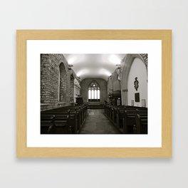 Irish Church Framed Art Print