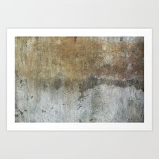 Stained Concrete Texture 9416 Art Print