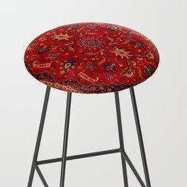 Antique Persian Rug Bar Stool