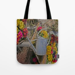 wake up Spring in Laupheim Tote Bag