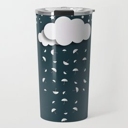 It's raining umbrellas Travel Mug