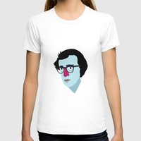 woody allen T-shirts featuring Woody Allen by Garuda and Hany