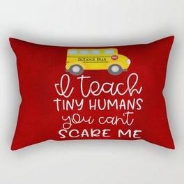 I teach tiny humans Rectangular Pillow